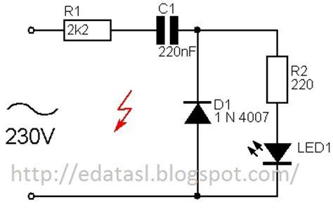 led resistor for 230v electronic circuit componnent data lesson and etc 230v vs led s