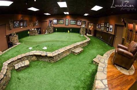 basement putting green johns basement for the home