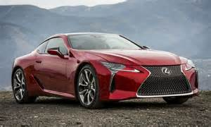 lexus lc 500 sports car shines in eye catching