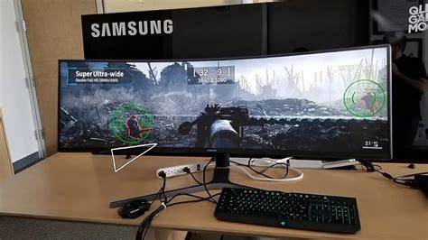 Harga Samsung Qled Gaming Monitor 49 samsung s new ultra wide monitor chg90 32 9