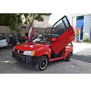 This Modified Maruti 800 Gets Scissor Doors And Tons Of