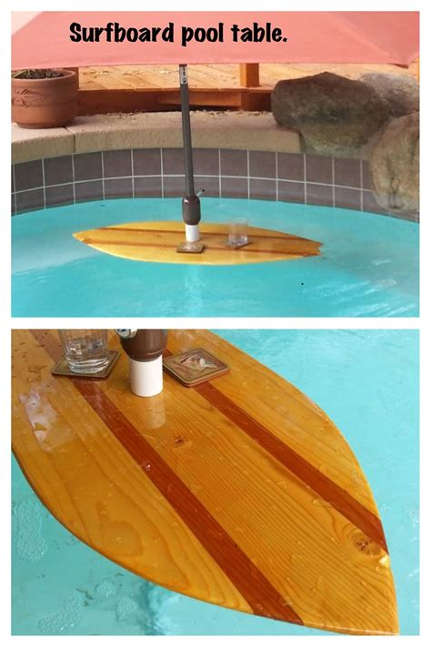 in pool table with umbrella a vintage style surfboard pool table and umbrella stand