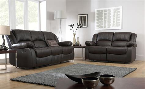 Recliner Sofa Suite Dakota Leather Recliner Sofa Suite 3 2 Seater Brown Only 163 899 98 Furniture Choice