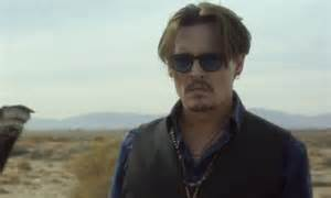 au savage hairstyle johnny depp goes on a mission in new dior sauvage advert