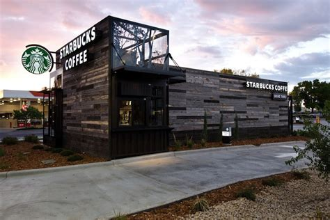 Small One Story House Plans With Porches by With Stunning New Stores Starbucks Has A New Design