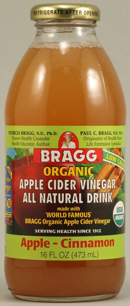 Braggs Detox Drink by 1 Tbsp Of Apple Cider Vinegar With Quot Quot 1 Cup Of