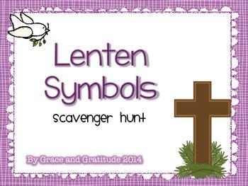 surrounded by grace a bible study for lent books lent lenten symbols scavenger hunt by grace and gratitude