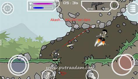 game mod apk ukuran mini doodle army 2 mini militia mod apk v3 0 136 mega mod