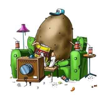 the couch potato television esl resources