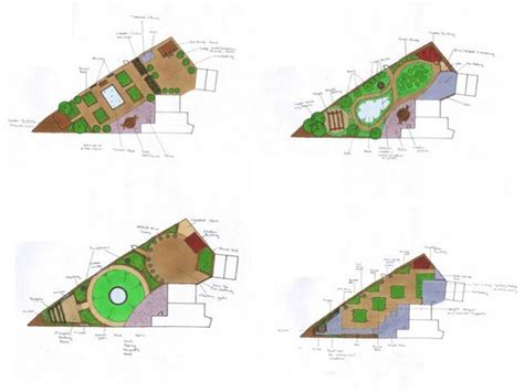 Triangle Garden Ideas 2927 Best Garden Plan Images On Pinterest Architecture Balcony And Green