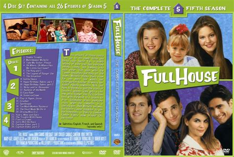 full house season 5 full house season 5 tv dvd custom covers 10081dvd fullhouse s5 dvd covers