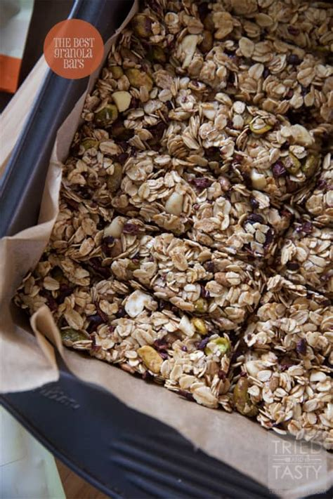 best granola bars the best granola bars tried and tasty