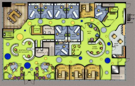 pediatric office floor plans medical office design on pinterest medical office
