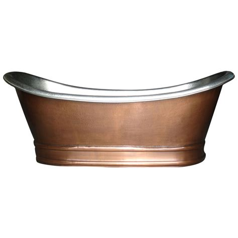 antique copper bathtub antique copper bathtub nickel finish inside copper tub