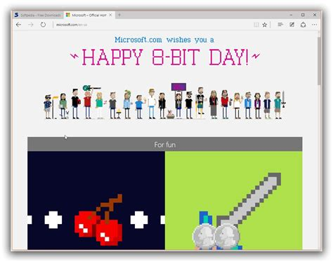 microsoft easter eggs microsoft celebrates 8 bit day with cat easter egg