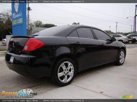 pontiac g6 black 2005 pontiac g6 gt sedan black photo 6