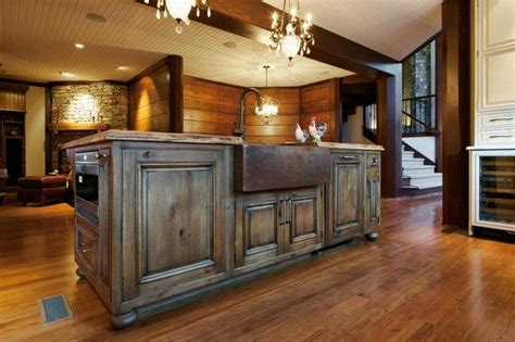 steel frame kitchen cabinets easy ways to achieve the rustic kitchen look decor