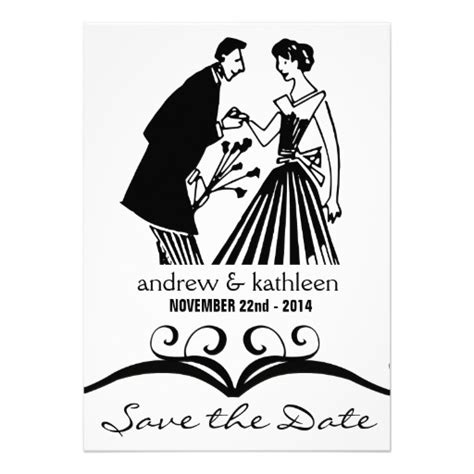 save the date script digital typography photo overlay clip