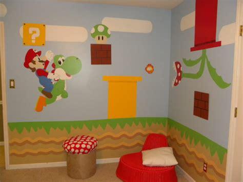Cool Kids Bedroom Theme Ideas by Super Mario Bros En El Dormitorio Infantil