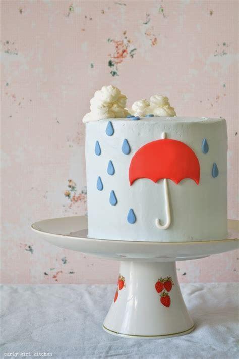 Curly Girl Kitchen: Rain, Rain Cake