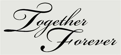 Forever Together 16 together forever wall sticker decals popular for home
