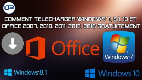 Office 2007 Et Windows 8 by Comment T 233 L 233 Charger Windows 7 8 1 10 Et Office 2007