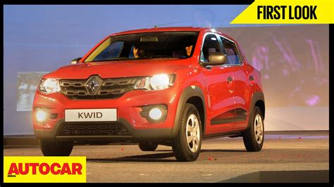 Renault Kwid   First Look Video Review   Autocar India