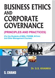Business And Ethics Mba Book by Business Ethics And Corporate By S S Khanka