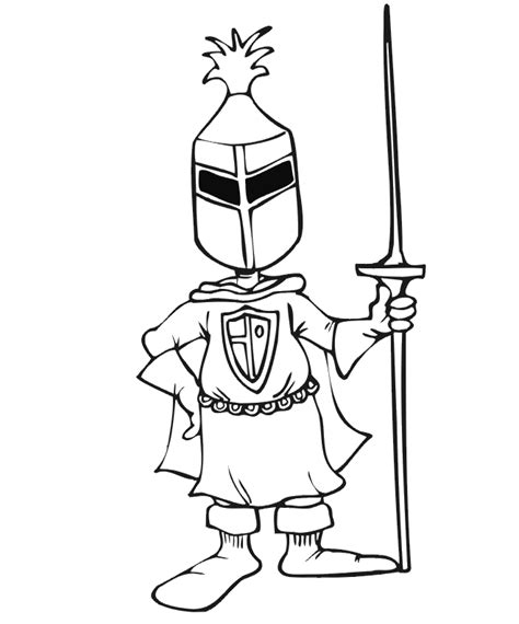 coloring pages knights jousting knight coloring page knight with jousting stick