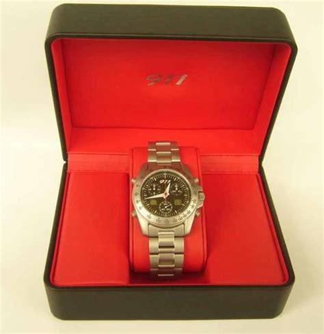 who makes porsche watches porsche 911 chronograph bnib by eterna wap070 009 97