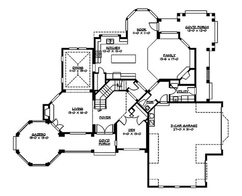 Victorian Floorplans by Cannaday Country Victorian Home Plan 071d 0164 House