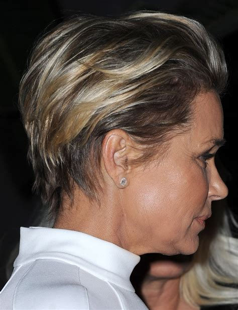 yokanda beverly hikls hair yolanda foster at the real housewives of beverly hills
