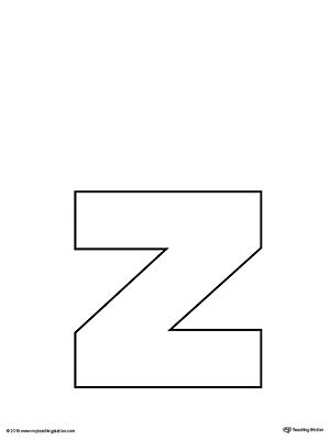 letter z template image gallery letter z template