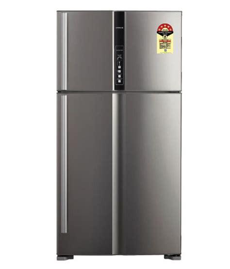 Hitachi Two Door Refrigerator Rvg54pgd3 Series hitachi 655 ltr r v720pnd1kx sts door refrigerator