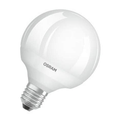 Lu Led Osram 9 Watt osram parathom 95mm es e27mm 9 watt frosted led globe bulb