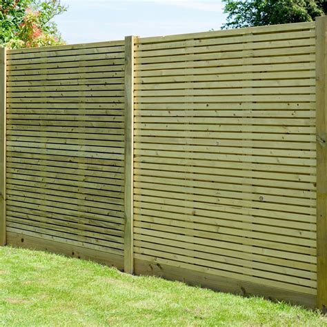 contemporary fence grange contemporary pressure treated 6ft wooden fence
