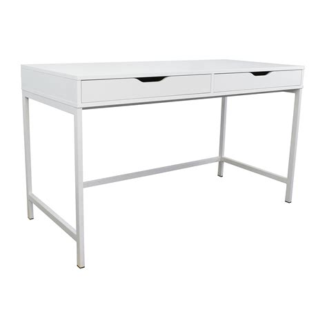 77 Off Ikea Ikea Alex White Desk Tables White Office Desk Ikea