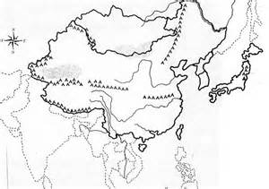 Ancient China Blank Map by Pics Photos Ancient China Map Outline Ancient Egyptians