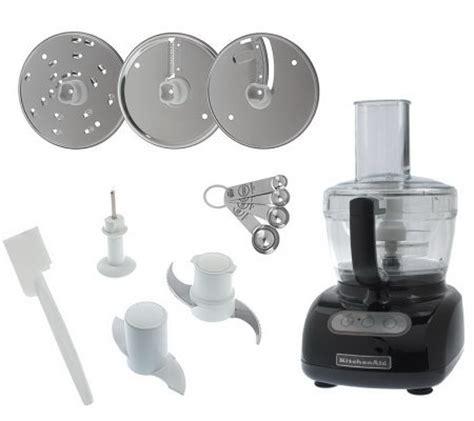 kitchenaid 9cup exact slice food processor w qvccom kitchenaid 9 cup 700 watt food processor w pulse control