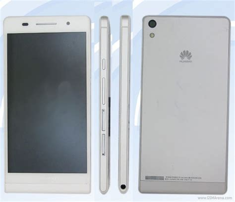 huawei p6 mobile huawei p6 u06 leaked claims the thinnest smartphone title
