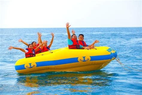 Donut Boat donut boat picture of krisna water sports singaraja