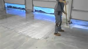how to install a decorative epoxy chip floor youtube