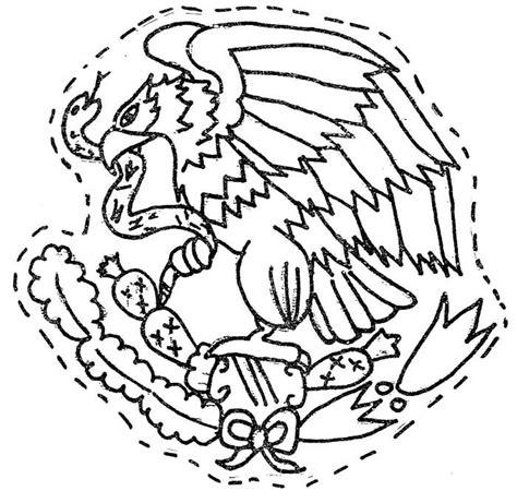 escudo bandera de mexico para colorear nocturnar m 225 s de 25 ideas incre 237 bles sobre escudo mexicano en pinterest