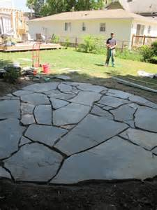 how to lay a patio patios on paving patio flagstone