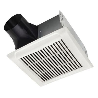 cfm requirements for bathroom fans nutone invent series 50 cfm ceiling exhaust bath fan