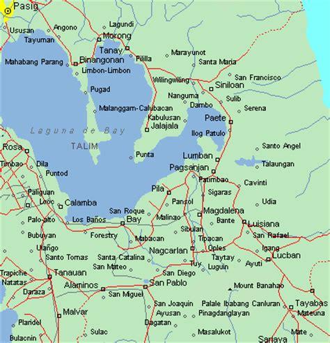 map of laguna map of pagsanjan laguna all about philippine resorts