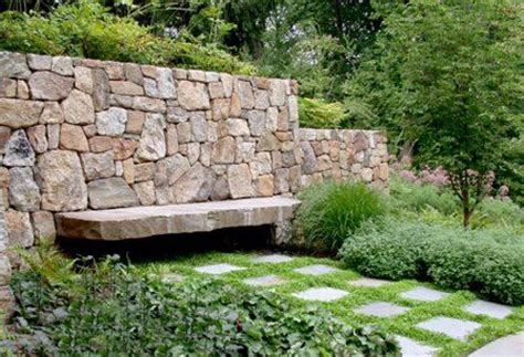 garden wall bench 17 best images about garden paving and walls on pinterest
