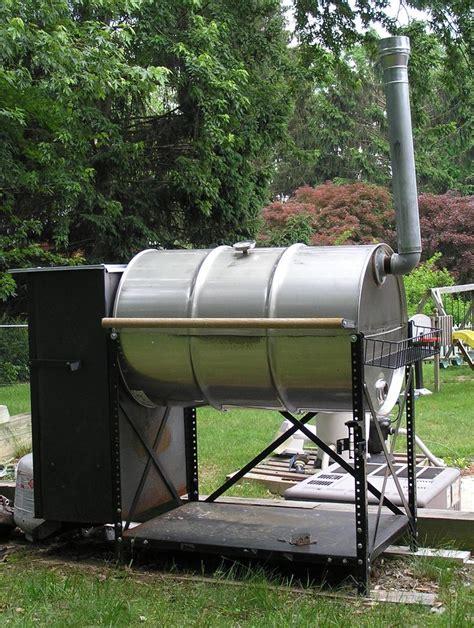 home made smoker plans double barrel smoker plans 55 gallon smoker grill plans