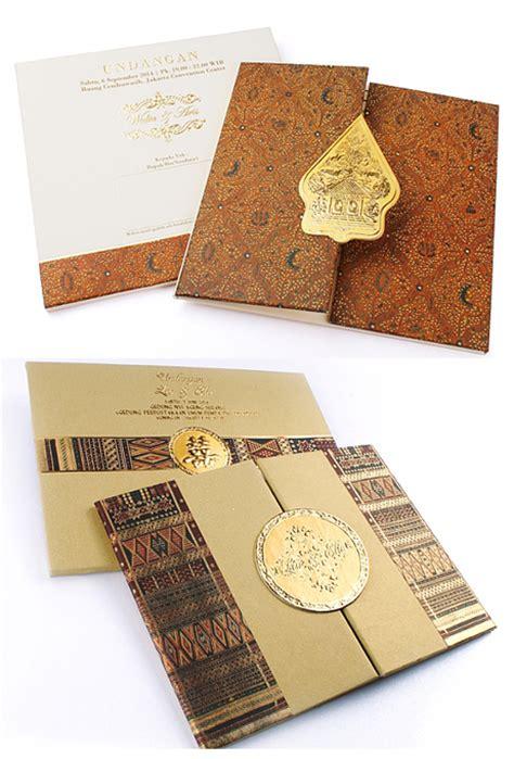 desain undangan pernikahan batik hal yang harus diperhatikan dalam memilih undangan