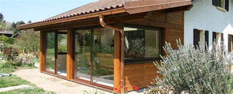 veranda bois en kit 846 v 233 randa en bois ma v 233 randa